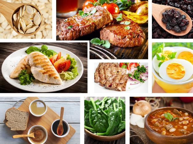 Demir yapan 10 besin
