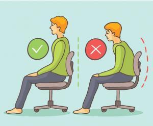 Yanlış pozisyonda oturmak omurgayı bozuyor