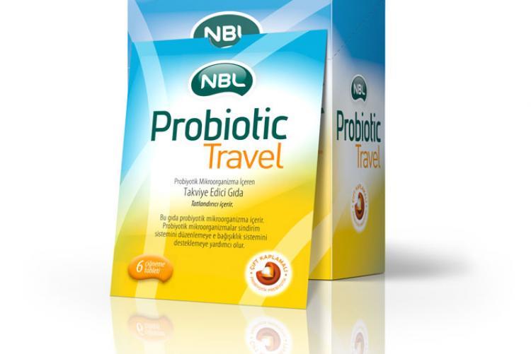 Seyahatte sağlıklı sindirim sistemi için: NBL Probiotic Travel