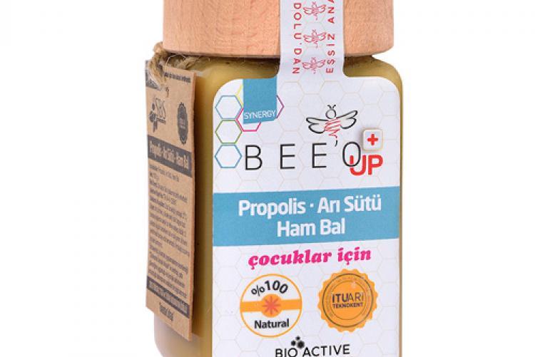 Çocuklarda güçlü bağışıklık sistemi için: BEE'O UP
