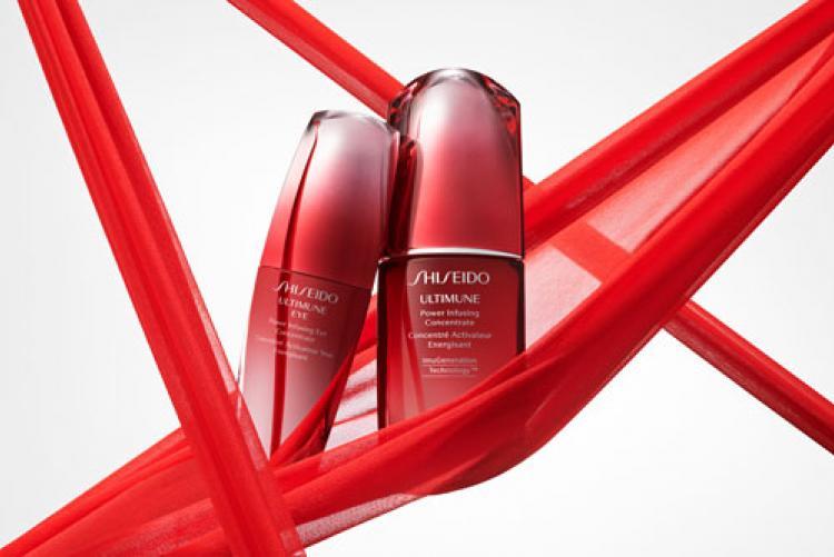 Cildinizin gençliği,  Shiseido ULTIMUNE ile kontrol altında