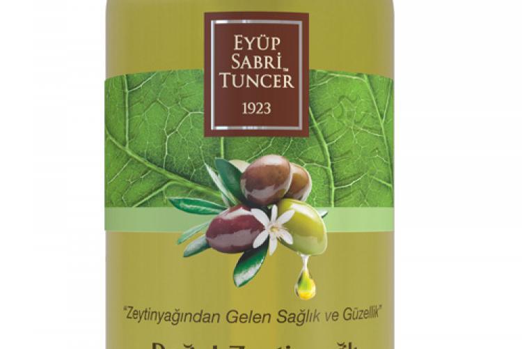 Eyüp Sabri Tuncer doğal zeytinyağlı duş jeli doğanın iyiliği teninizde!